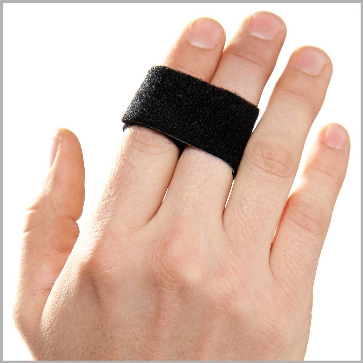The 1-inch 3pp Buddy Loop is ideal for larger fingers or for playing sports