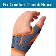 Fix comfort thumb brace