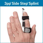 3pp Side step finger splint