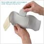 Removable pad adds extra support under the arch of your foot