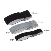 """3pp Buddy Loops – available in ½"""", ¾"""" & 1"""" (1.27 cm, 1.9 cm & 2.5 cm)"""