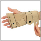 Comforter Splint for holding wrist and finges in neutral position while sleeping