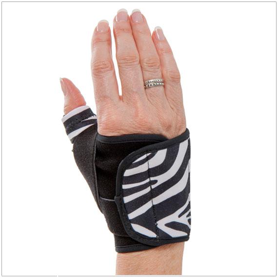3pp Design Line Thumb Splint - Zebra