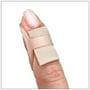 Wear Gel Mate under an Oval-8 Finger Splint to cushion the DIP joint for mallet finger