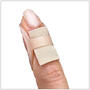 Wear Gel Mate under an Oval-8 Finger Splint to cushion the DIP joint for mallet finger