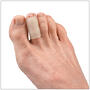 Gel tubes cushion toes and provide protection for corns, hammertoes and enlarged joints