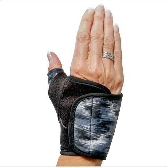 3pp Design Line Thumb Splint - Black Trim