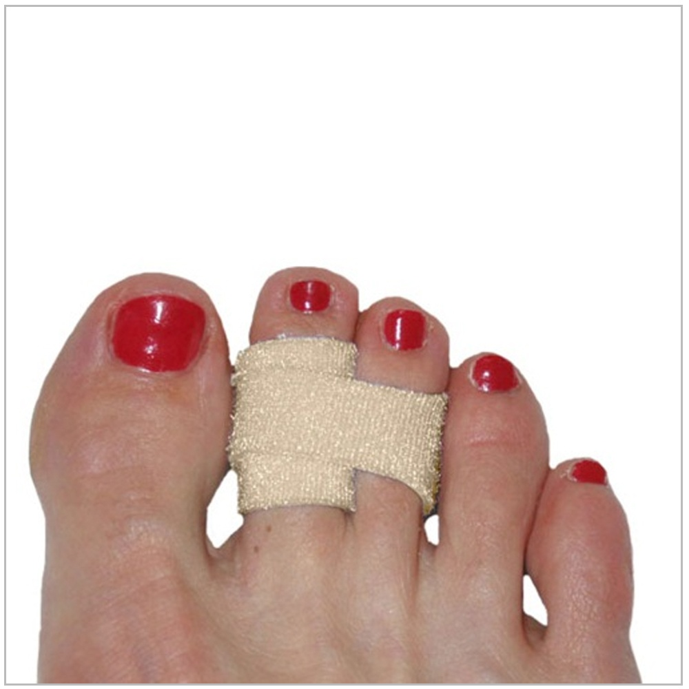 Wrap the 3pp Toe Loop strap around the toe next to it and secure the velcro fastener