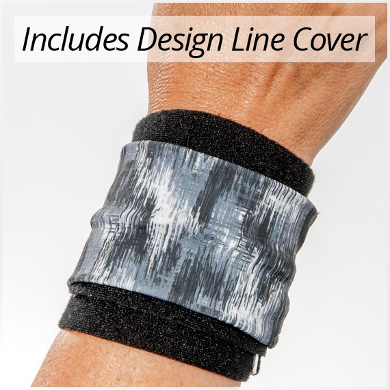 3pp Wrist P.O.P. with brushed black Design Line cover
