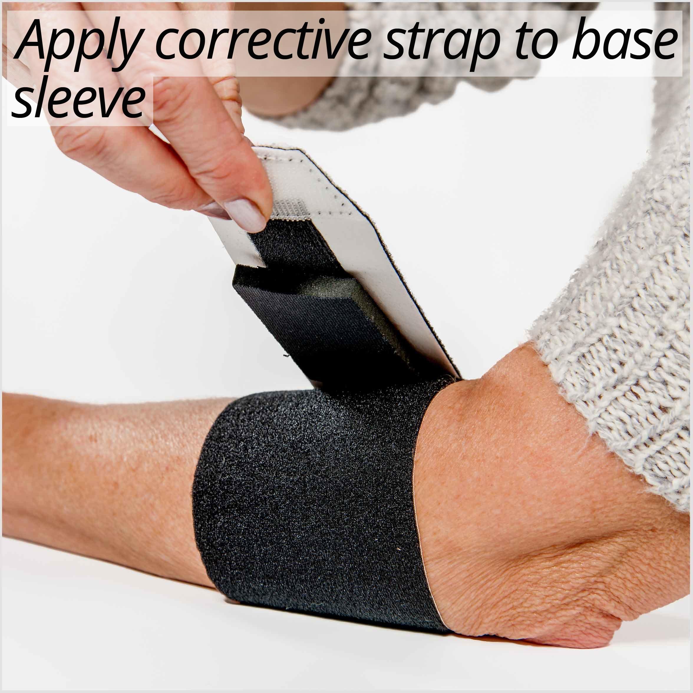 3pp Elbow POP applying corrective strap