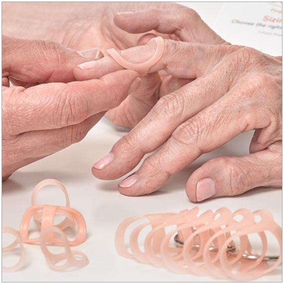 Oval-8's treat mallet finger, swan neck and boutonniere deformities,trigger finger and trigger thumb, lateral deviation, fractures, arthritis, and hypermobility (EDS)