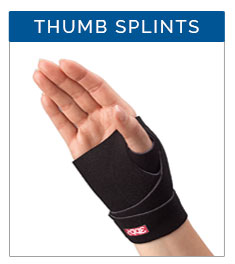 Thumb Splints from 3-Point Products