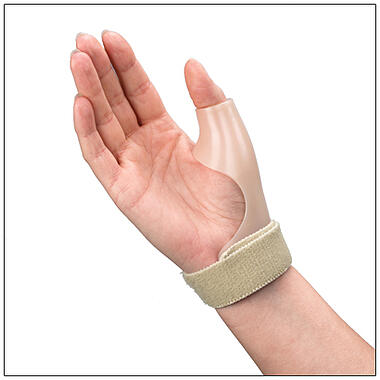ThumSaver CMC Short holds the thumb in functional position allowing user to grasp objects