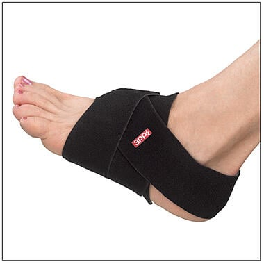 The 3pp U Wrap can be used as a foot or ankle support