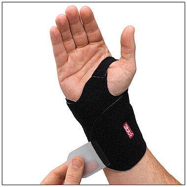 3pp Wrist Wrap provides a light, controlled compression to wrist muscles and tendons