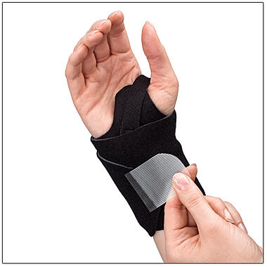 3pp Wrist Wrap NP for moderately controlled compression