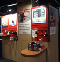 3-Point Products exhibit booth at ASSH